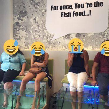 Fishing for Fun: Heraklion's Fish Spa